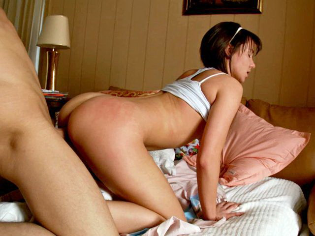 Dark Haired Teenie Minx Malica Getting Delicious Coochie Smashed Rear End By Way Of A Lengthy Schlong