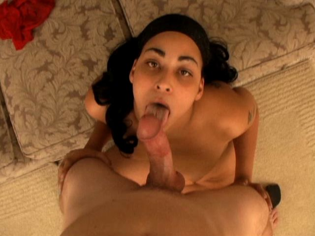 Sex-positive Youthful Dark-hued Gf Hog Belle Gargling A Rock Hard Milky Cock With Enthusiasm